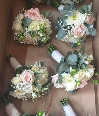 Bridesmaid's Posies