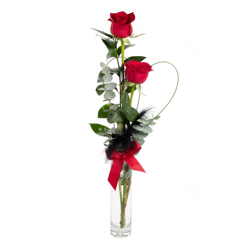 Love birds - flowers for your valentine