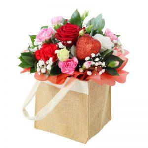 Stolen heart flowers