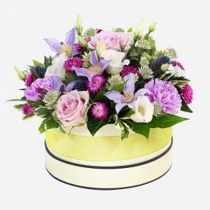 Moonlight flower arrangement