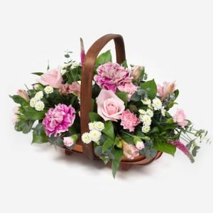 Alicia - flowers in a basket