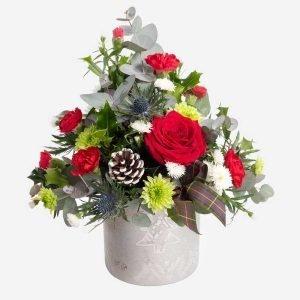 Eve Christmas flower arrangement